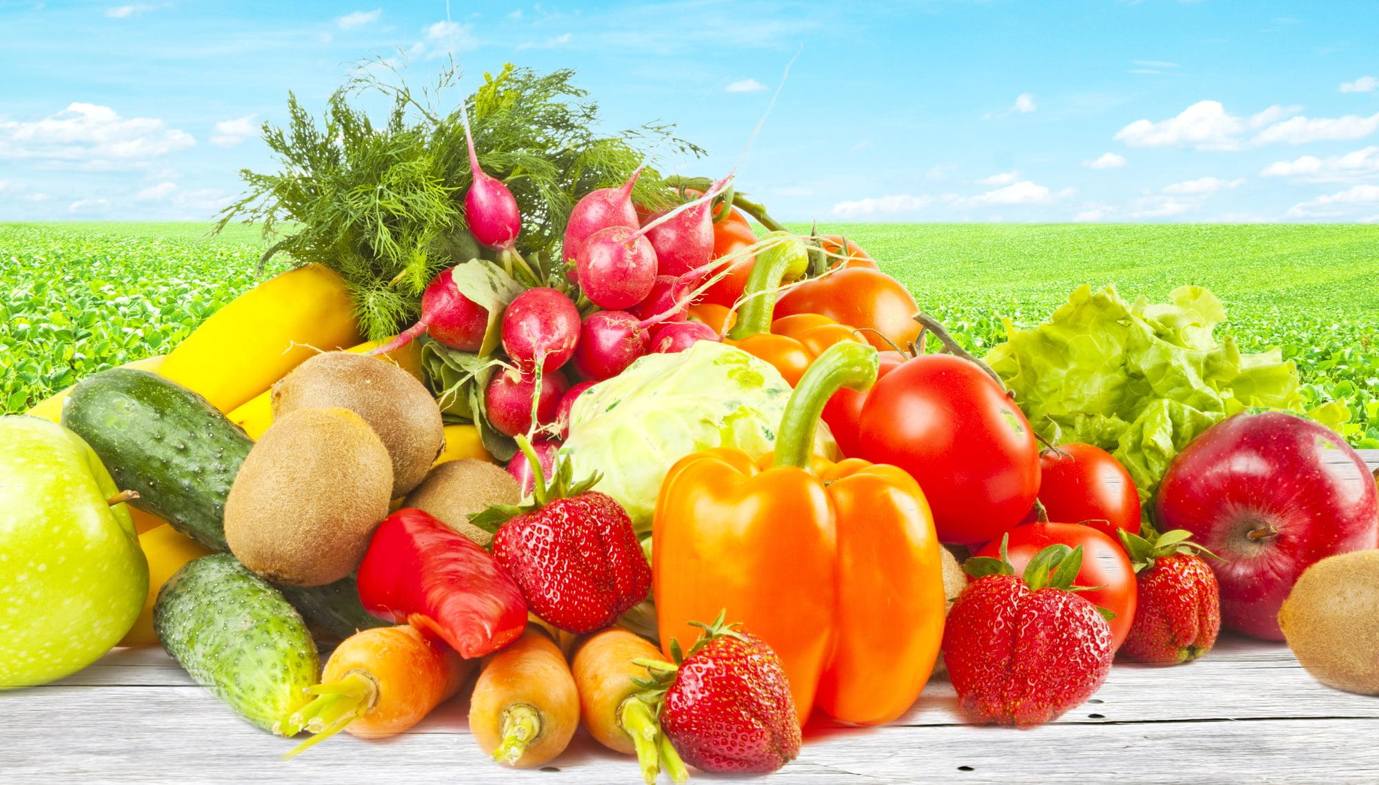 9 Types of Organic Foods